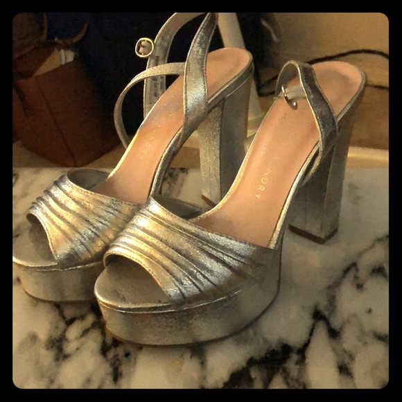 2b66a701a7 Chinese Laundry Shoes | Pleated Allie Sandal Platform | Poshmark